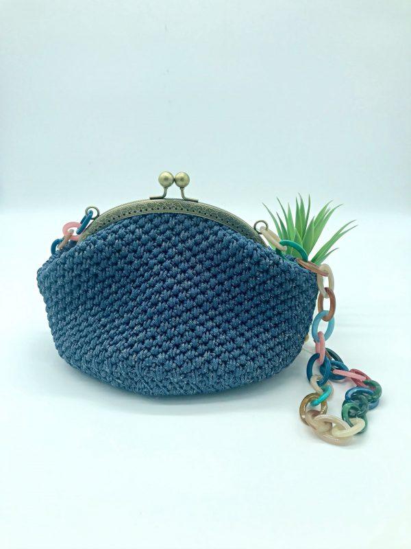 Bolso vintage de crochet modelo Estela. kaykai