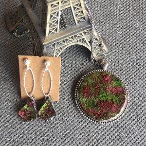 Conjunto de arcilla y resina, hecho por kaykai
