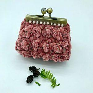 Monedero de crochet. kaykai